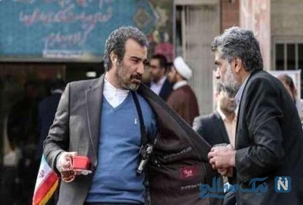 تصویری از محسن تنابنده بازیگر سریال پایتخت
