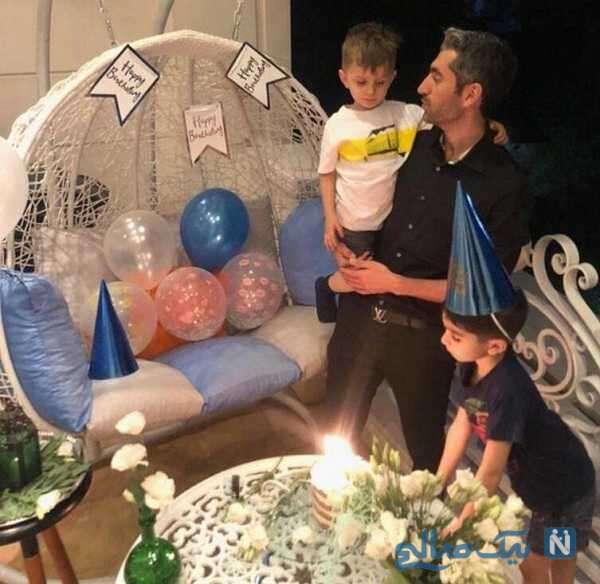 تصویری از جشن تولد مجتبی جباری