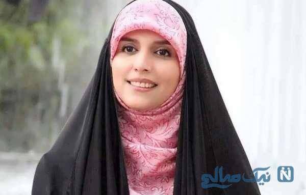مژده لواسانی مجری معروف واکسن ایرانی برکت را تزریق کرد