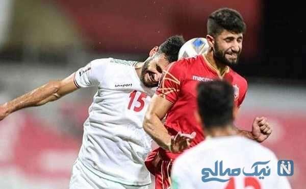 جشن پیروزی بازیکنان تیم ملی فوتبال ایران در رختکن