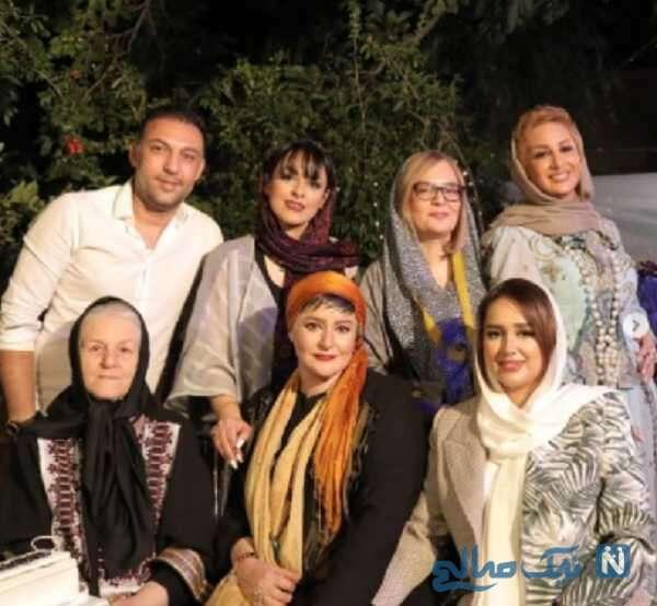 عکس خانوادگی نعیمه نظام دوست