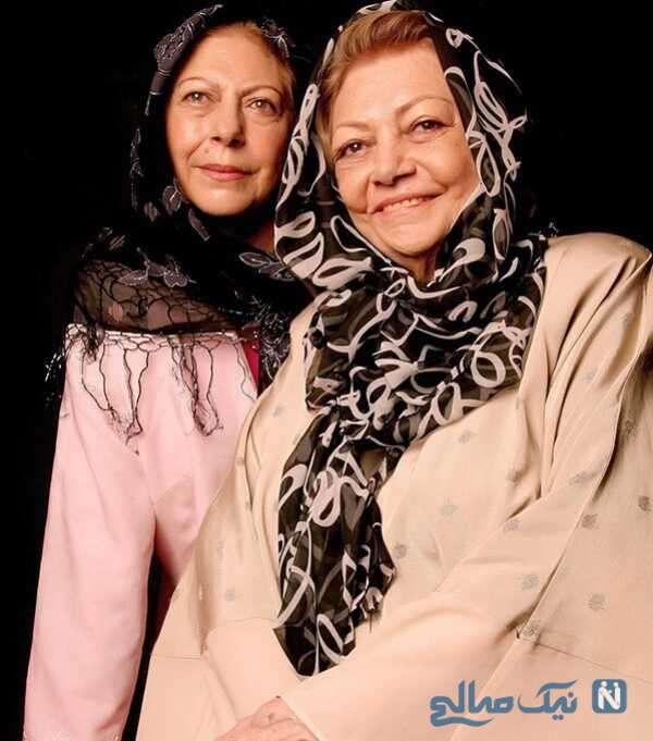 مادر و دختر معروف سینمای ایران
