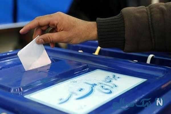 حضور پیرزن کرمانشاهی ۱۱۰ ساله پای صندوق های رای در انتخابات ۱۴۰۰