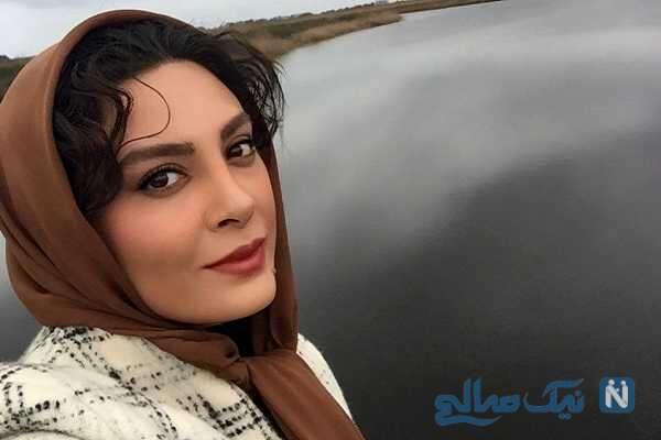 حدیثه تهرانی همراه همسرش در جشن تولد لاکچری دوستشان