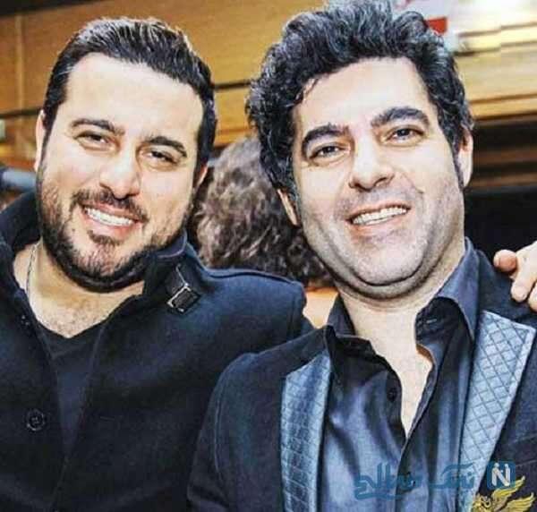 عکس مصطفی کیایی و برادرش محسن