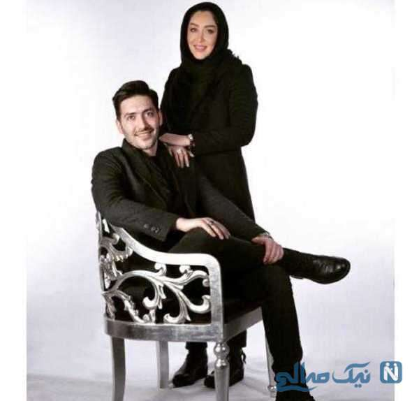 عکسهای سارا منجزی پور و برادرش