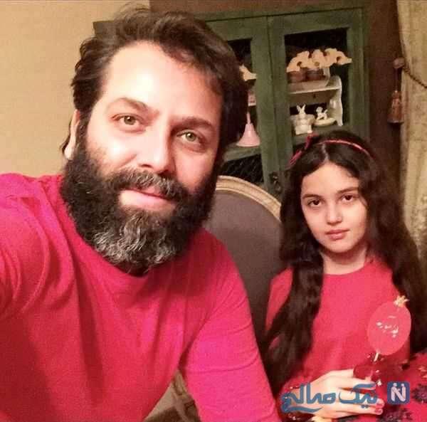 بازیگر معروف و دخترش