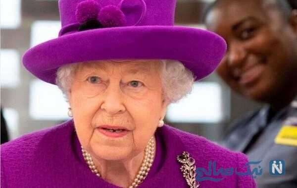 تصاویری جالب از حضور ملکه الیزابت در پیست اسب دوانی
