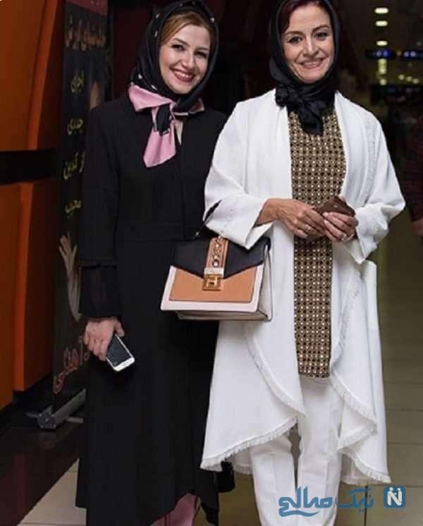 ملیکا زارعی و خواهرش