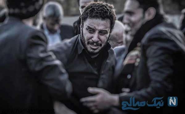 اکران خصوصی سریال زخم کاری از رعنا آزادی ور تا جواد عزتی و همسرش
