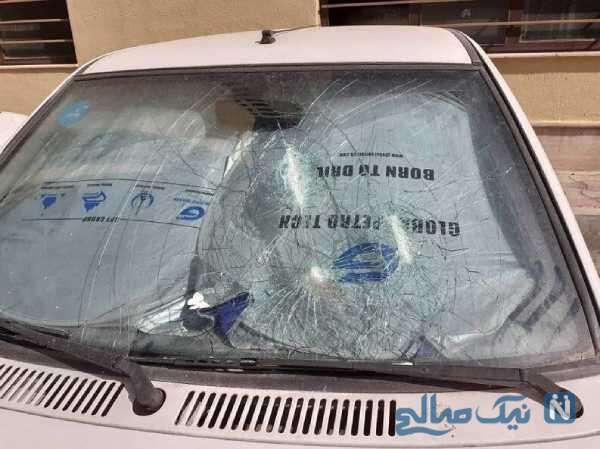 تخریب 10 خودرو توسط پسر پولدار تهرانی