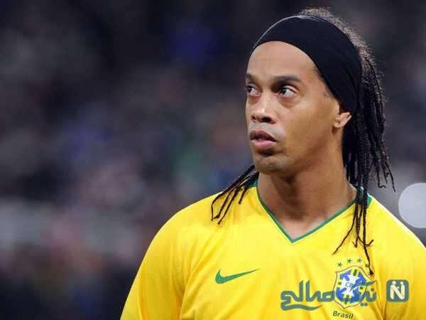 تصویری از رونالدینیو بازیکن فوتبال برزیل