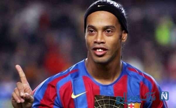 پذیرایی ویژه بوراک سرآشپز معروف ترک از رونالدینیو بازیکن فوتبال برزیل