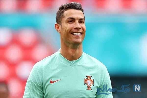 حرکت نمایشی رونالدو در مسابقه فوتبال مقابل آلمان جنجالی شد