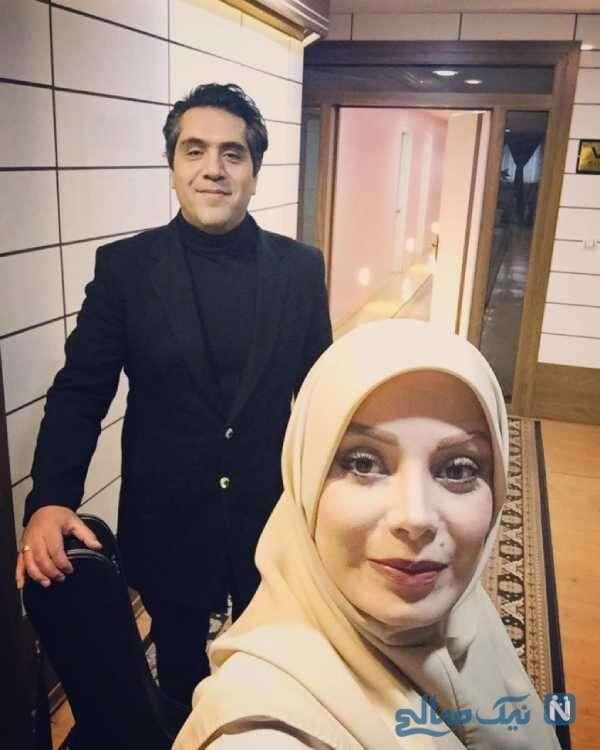 سلفی صبا راد و همسرش مانی رهنما