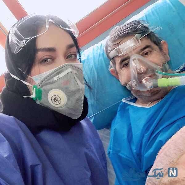 درگذشت پدر سارا منجزی پور