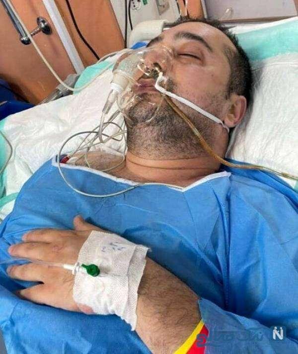 عمل جراحی سپند امیر سلیمانی