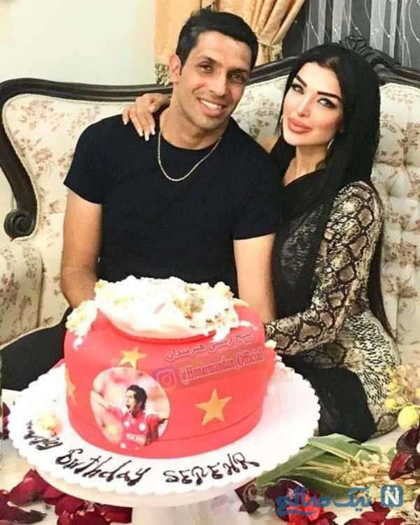 تصویری از جشن تولد سپهر حیدری