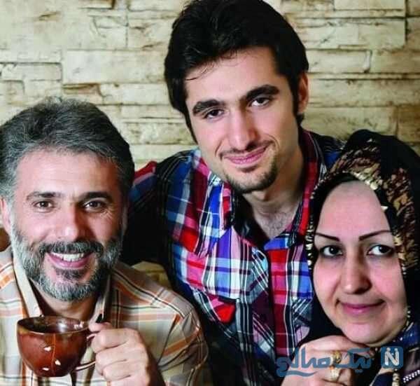 همسر و پسر سید جواد هاشمی