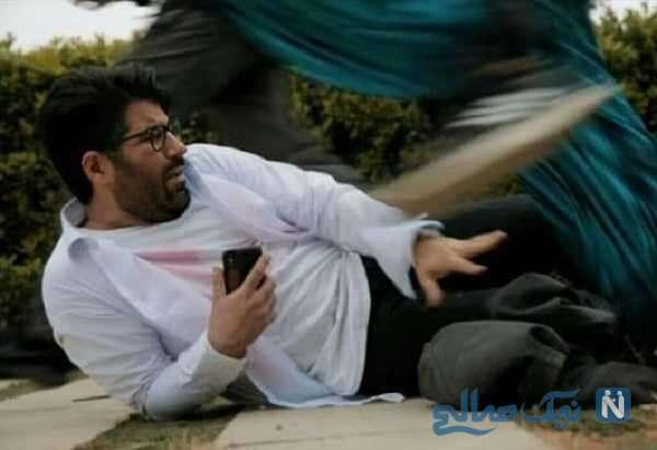 بازی حامد همایون خواننده معروف در سریال حالا برعکس