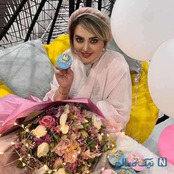 تصویری از جشن تولد سولماز اقمقانی