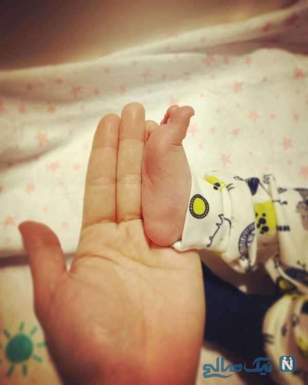 تولد فرزند فرناز رهنما