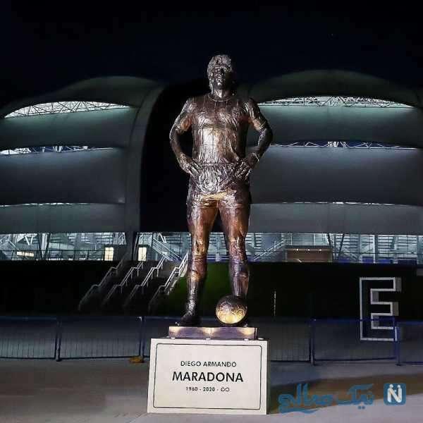 مجسمه دیگو مارادونا