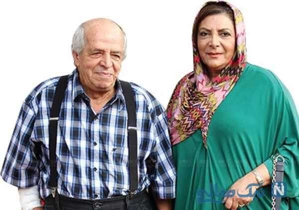 مرحوم قاضی مرادی و همسرش