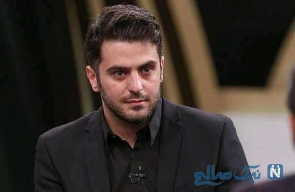 تغییر چهره علی ضیا مجری جنجالی تلویزیون با موهای تراشیده شده اش