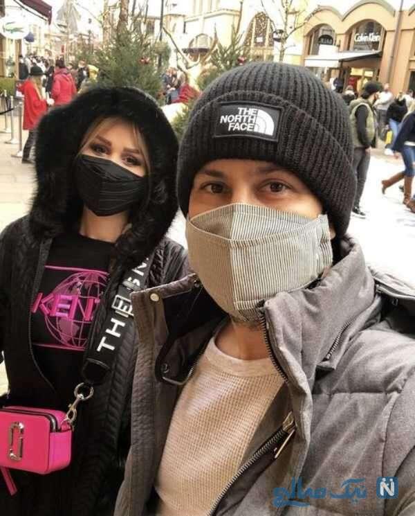 جدیدترین عکس شاهرخ استخری همراه با همسرش