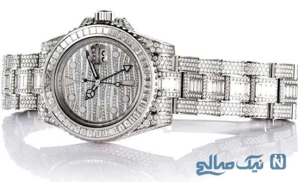 تصویری از گران ترین ساعت مچی جهان