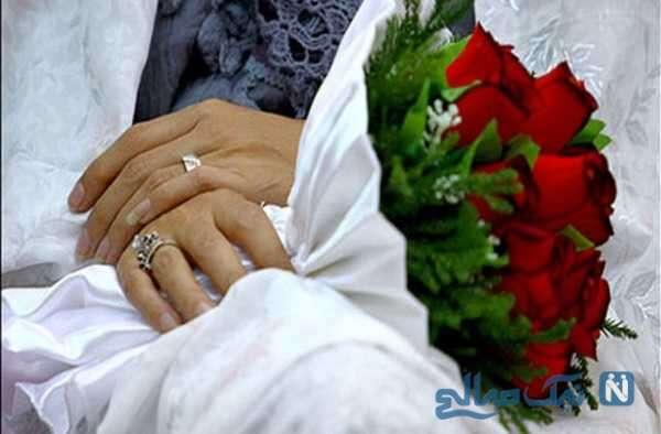 حضور عروس داماد در انتخابات با لباس زیبای محلی