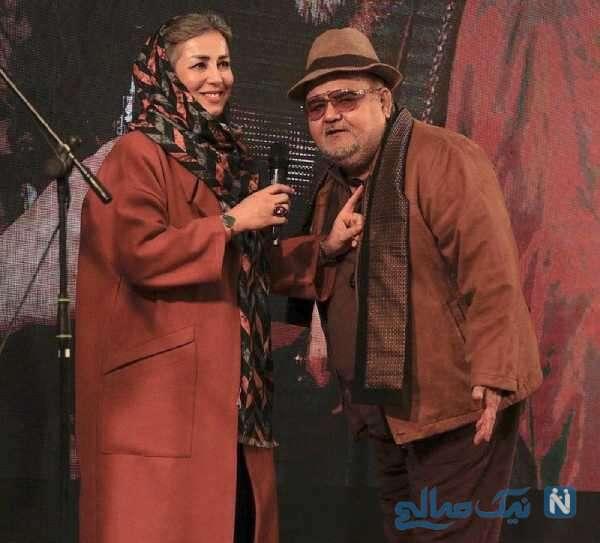 تصویری از همسر اکبر عبدی