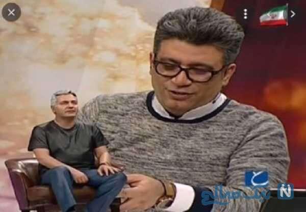تصویری از تندیس مهران مدیری