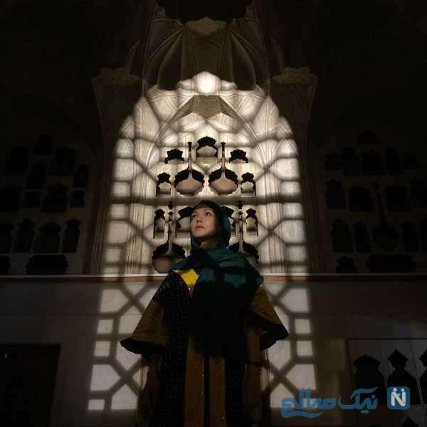 بازیگر شهرزاد کمال زاده در اصفهان