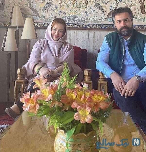 بازیگر زن بهاره رهنما و همسرش