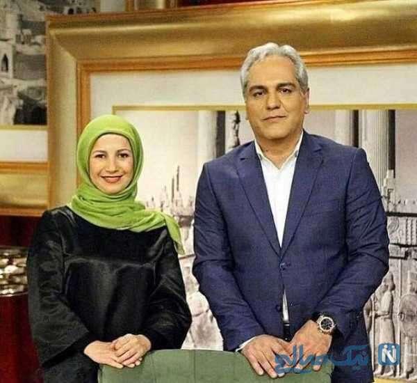 لیلی رشیدی بازیگر معروف و مهران مدیری