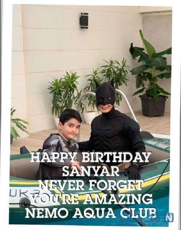 تولد آقا سانیار