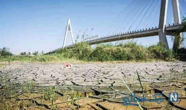 دلیل کم آبی در خوزستان