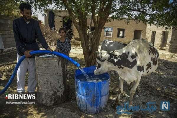 رسیدن آب به روستاهای اهواز