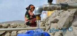 تصاویری از خوشحالی و ذوق مردم روستاهای اهواز با رسیدن آب
