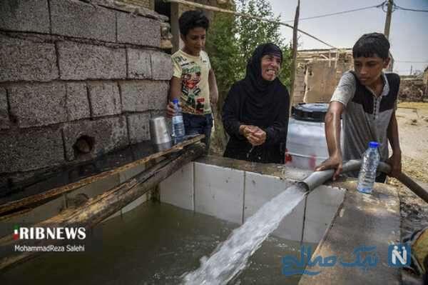 رسیدن آب به روستاها