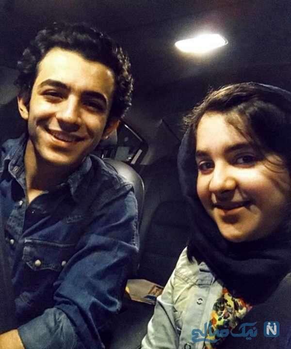 علی شادمان و خواهرش