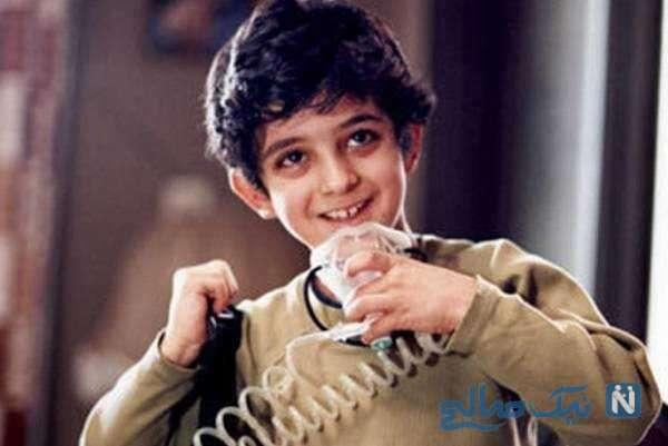 تصویری از علی شادمان در کودکی