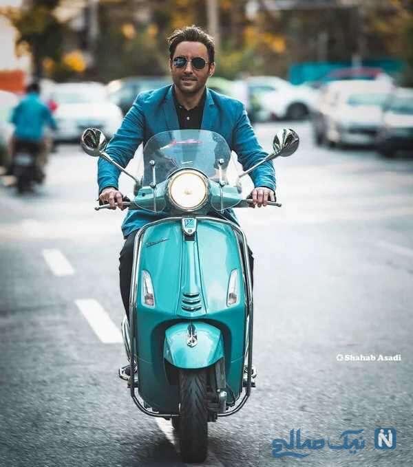 موتورسواری امیرحسین رستمی