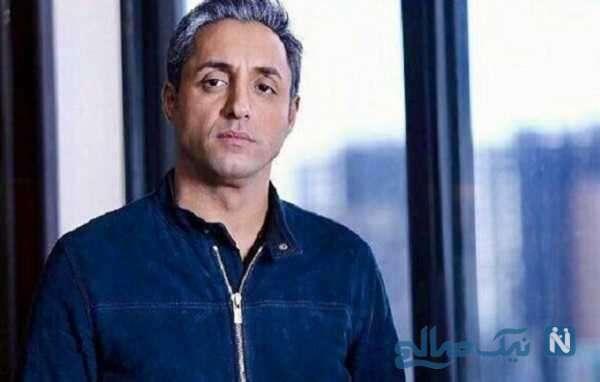 دور دور امیرحسین رستمی بازیگر سریال دودکش با موتور لاکچری اش