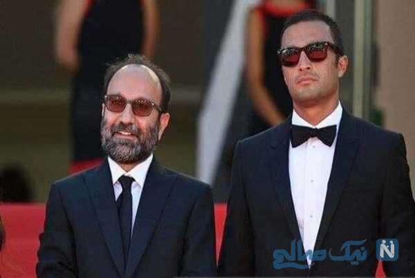 امیر جدیدی و اصغر فرهادی در جشنواره کن