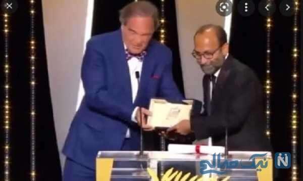 اصغر فرهادی کارگردان سینما برنده جایزه جشنواره کن