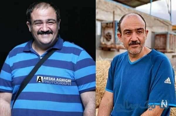 مهران غفوریان قبل و بعد از کاهش وزن