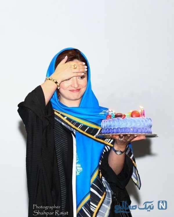 جشن تولد گلاره عباسی